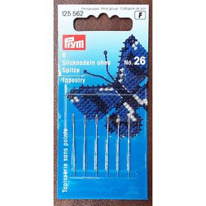 Игла для вышивки со скругленным острием №26, Prym (арт.125562)