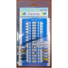 Органайзер для игл и ниток Гамма, 30 ячеек, OG-P30