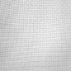 Канва Линда 27 белая (Zweigart 1235/1, Linda 27 white)